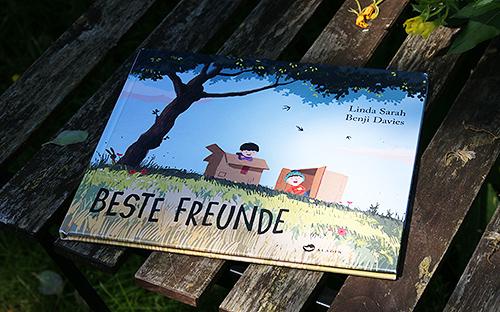 """Foto des Buchcovers """"Beste Freunde"""""""